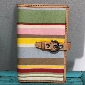 Coach passport/photograph holder